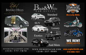 Black and White Car Rental