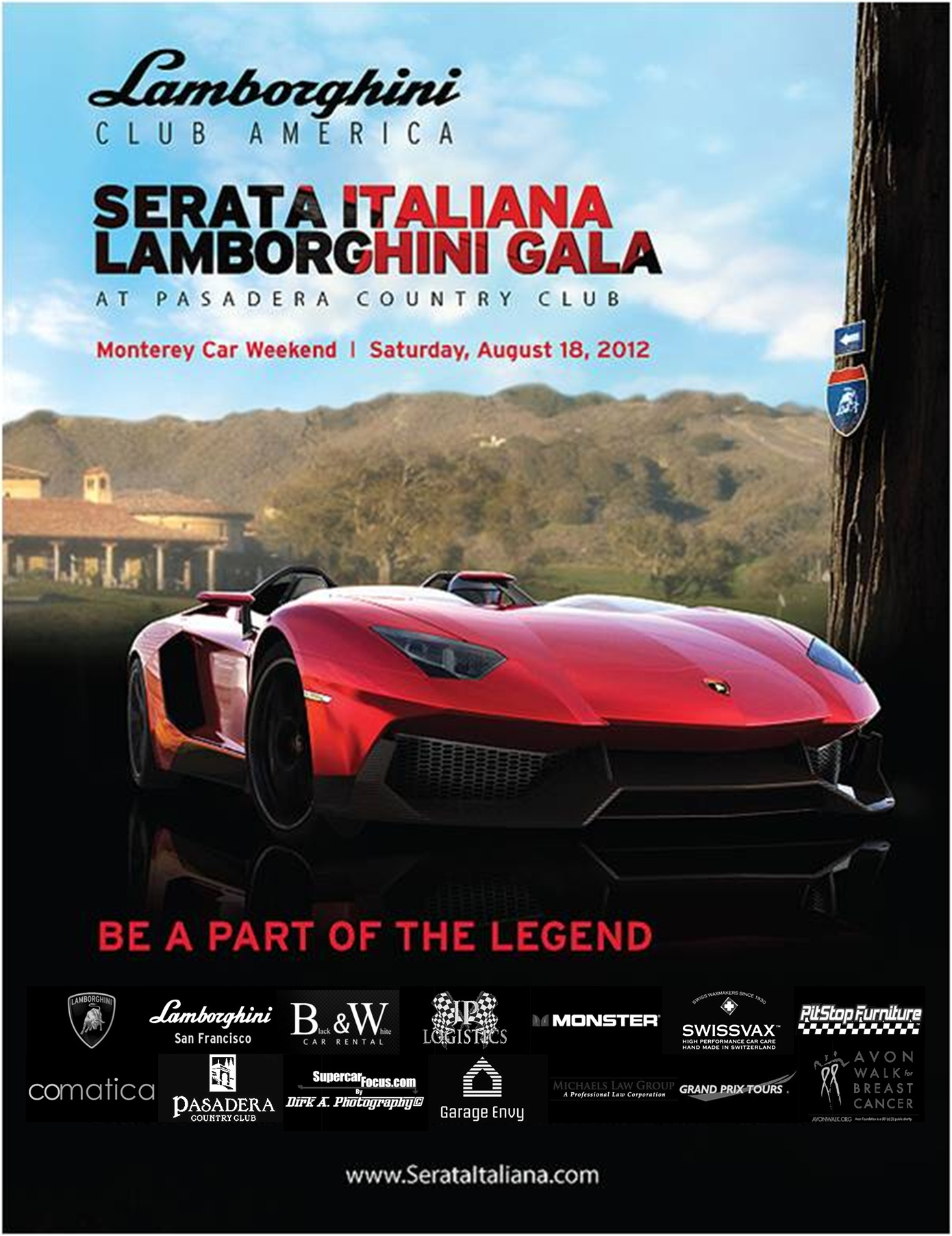 Serata Italiana with Sponsors