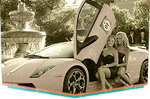 Pink Lamborghini at Serata Italiana