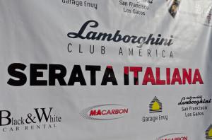 2012 Serata Italiana Step and Repeat Wall