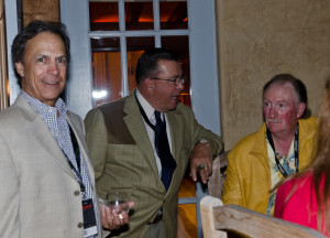 Lamborghini Club Members Enjoying Serata Italiana Glenmorangie & Cigar Tasting