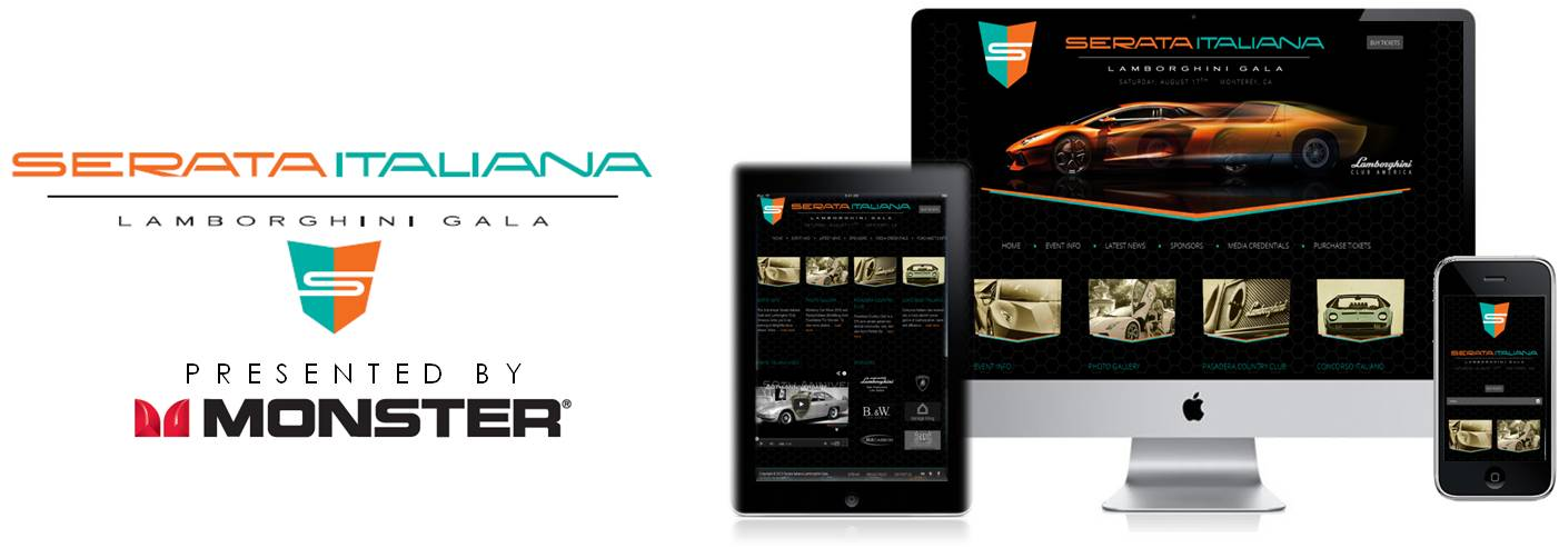 Serata Italiana Responsive Design Website