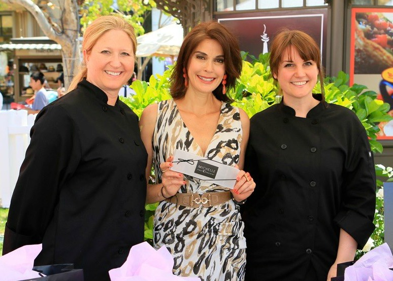 Michelle haut Chocolat, Teri Hatcher and Kimi