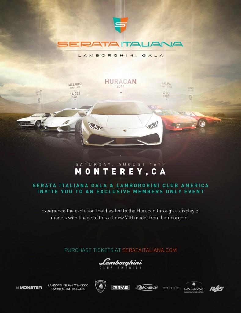 Serata Italiana Lamborghini 2014
