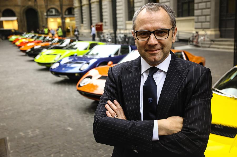 Stefano Domenicali, CEO Automobili Lamborghini