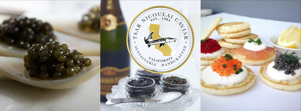 Tsar Nicoulai Caviar Returns to Serata Italiana 2018